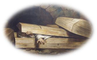 the hasty burial